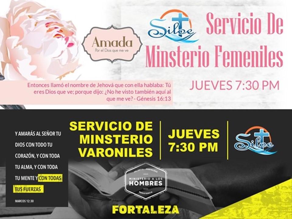 Ministrios Varoniles/Femeniles