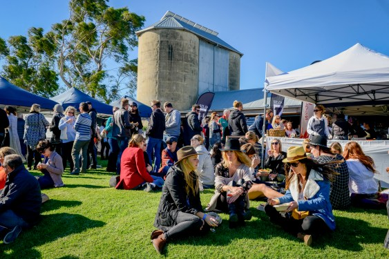 The Winter Wine Festival at Silos Estate is always a great atmosphere.
