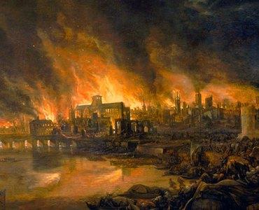 London Fire, 1666