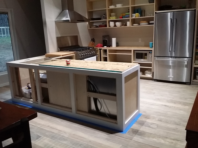 Kitchen Cabinets Continue Silo West