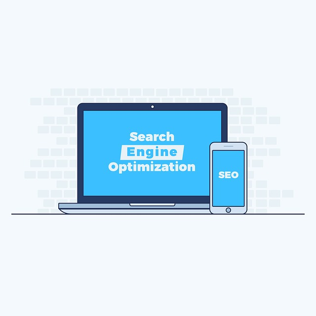 Picture of Computer with SEO