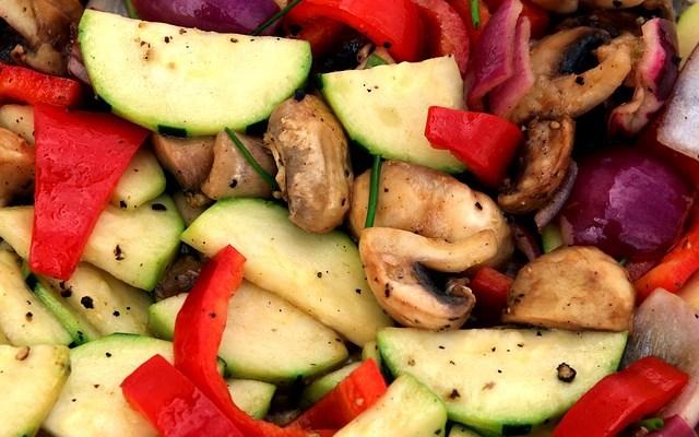 Gegrilde groenten: snel, lekker en gezond