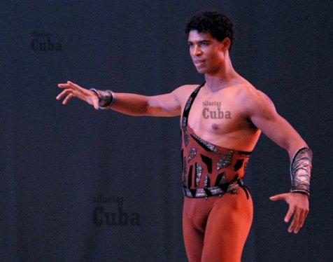 """Carlos Acosta interpreta """"Espartaco"""" durante el 21 Festival Internacional de Ballet de La Habana, el 6 de Noviembre de 2008, La Habana, Cuba. Foto: Calixto N. Llanes/Juventud Rebelde (CUBA)"""
