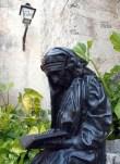 Escultura de la Madre Teresa de Calcuta, en la parte posterior del Convento de San Francisco de Asís, el 31 de Enero de 2011, La Habana, Cuba. Foto: Calixto N. Llanes/Juventud Rebelde (CUBA)