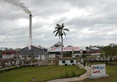 Vista de la Empresa Azucarera Harlem, el 21 de Enero de 2009, Pinar del Río, Cuba. Foto: Calixto N. Llanes/Juventud Rebelde (CUBA)