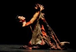 """Arturo Vázquez del Taller Coreográfico de la Universidad Autónoma de México interpreta """"Fruta Extraña"""", durante el 21 Festival Internacional de Ballet de La Habana, el jueves 30 de octubre de 2008, La Habana, Cuba. Foto: Calixto N. Llanes (CUBA)"""
