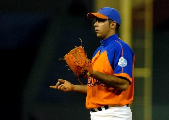 El líder en juegos ganados (17) de la temporada Ismel Jiménez abrirá por Sancti Spíritus frente a Matanzas. FOTO: Calixto N. Llanes/Juventud Rebelde (CUBA)