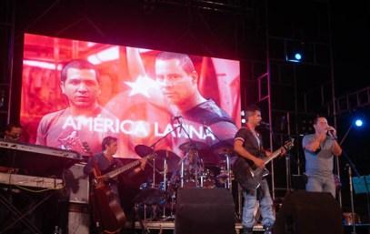 Buena Fe en la escalinata, el 19 de diciembre de 2012, La Habana. Foto: Calixto N. Llanes/Juventud Rebelde (CUBA)