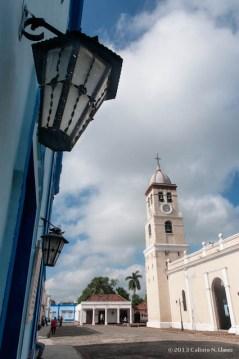 Plaza del Himno, en el centro histórico de Bayamo. Domingo 20 de octubre de 2013, Granma. FOTO: Calixto N. Llanes (CUBA)