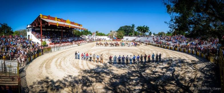Ceremonia inaugural de Torneo Internacional de Rodeo y Coleo, durante la Feria Internacional Agroindustrial Alimentaria (FIAGROP) de Rancho Boyeros el viernes 21 de marzo de 2014 en La Habana, Cuba. FOTO de Calixto N. Llanes/Juventud Rebelde (CUBA)