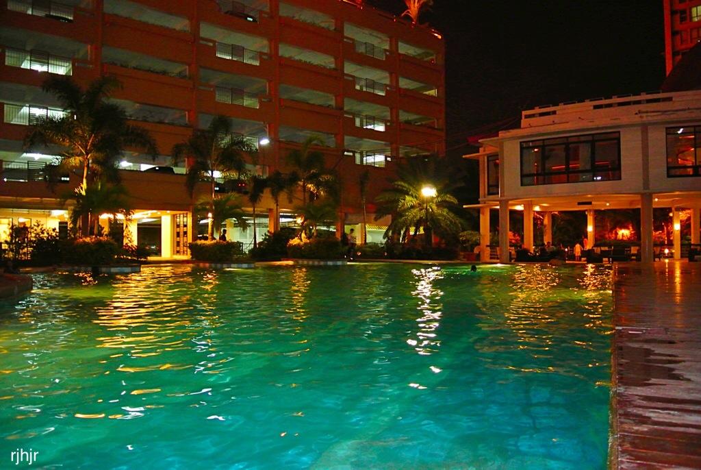 Summertime Nostalgia: Swimming at Night