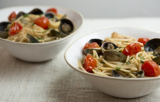 Gluten-Free Spaghetti and Clams