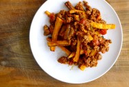 Turkey Chili Sweet Potato Fries