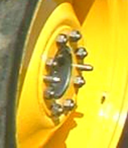 Landini R 4000 ruota posteriore