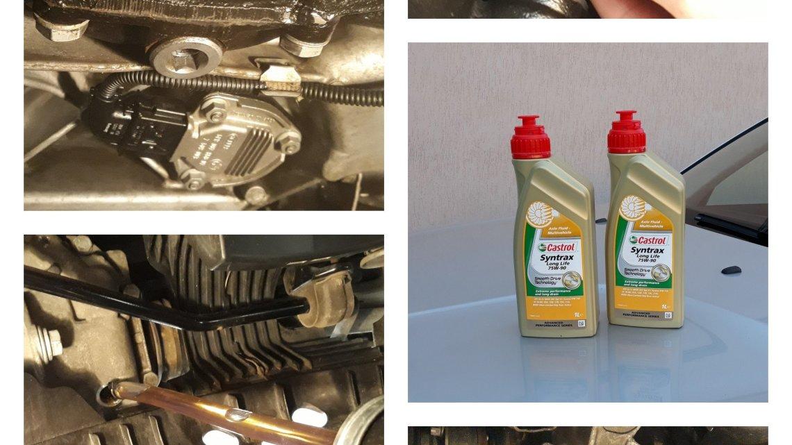 Differenziali X3 E83, cambio olio