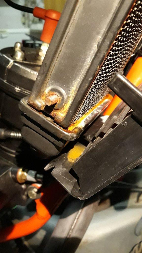 Aletta Rossa raffreddamento motore