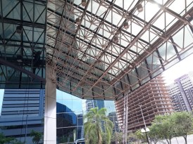 limpeza de estruturas em altura Corporate Financial Center