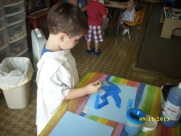 Arts and crafts at Silveira School