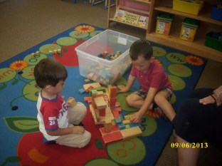 Group playtime at Silveira School