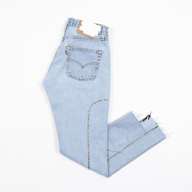 OLD PARK Western Jeans #Blue size:S  [op-245]