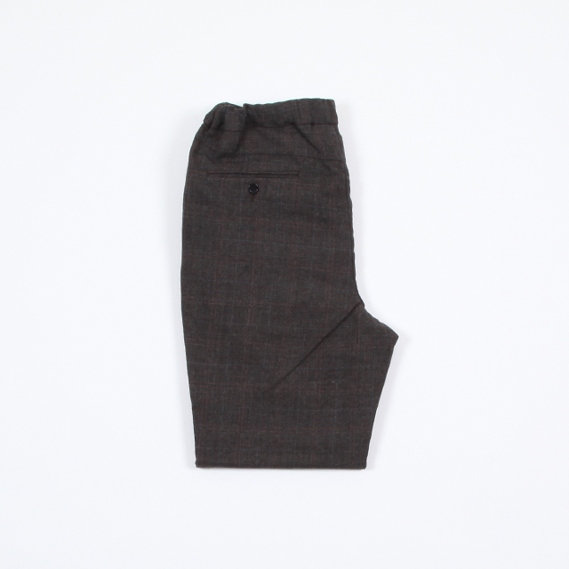 A VONTADE 1 Tuck Tapered Easy Trousers [VTD-0384-PT]