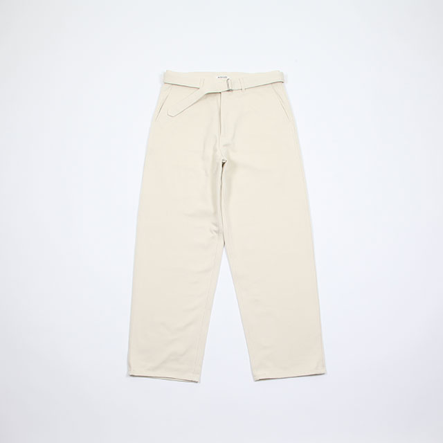 AURALEE LOOSE TWILL WIDE PANTS [A9SP02YT]
