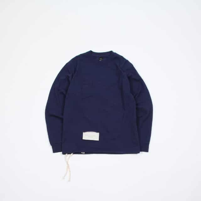 HESTRADA Gee-Wiz L/S SWITCH with POCKET TEE W/ATHLETIC SHOE LACE