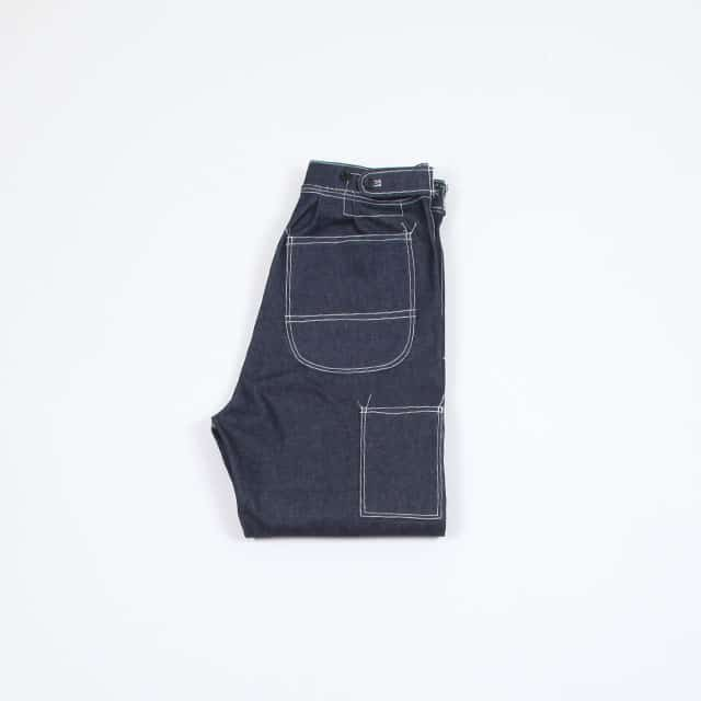 CAMIEL FORTGENS Easy Pants Dark Denim