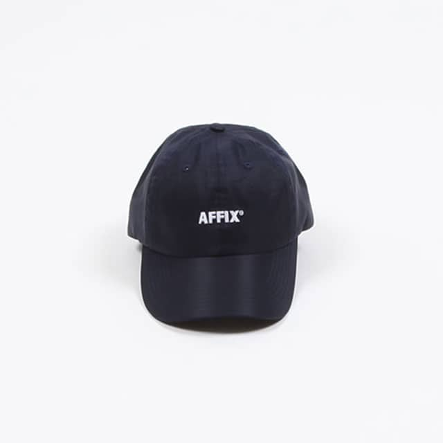 AFFIX AFFIX LOGO CAP BLACK / SAFETY ORANGE