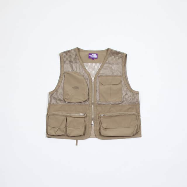THE NORTH FACE PURPLE LABEL Mesh Angler Vest [NP2914N]