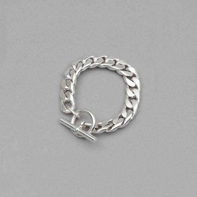 LAVER Curb Chain T Bar Bracelet