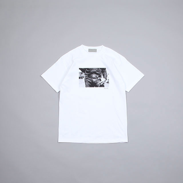 BROW MIKE PISCITELLI GAY RODEO S/S TEE WHITE