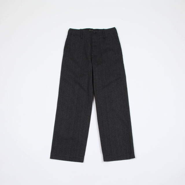 AURALEE WASHED FINKX POLYESTER CHINO PANTS [A9AP01PN]