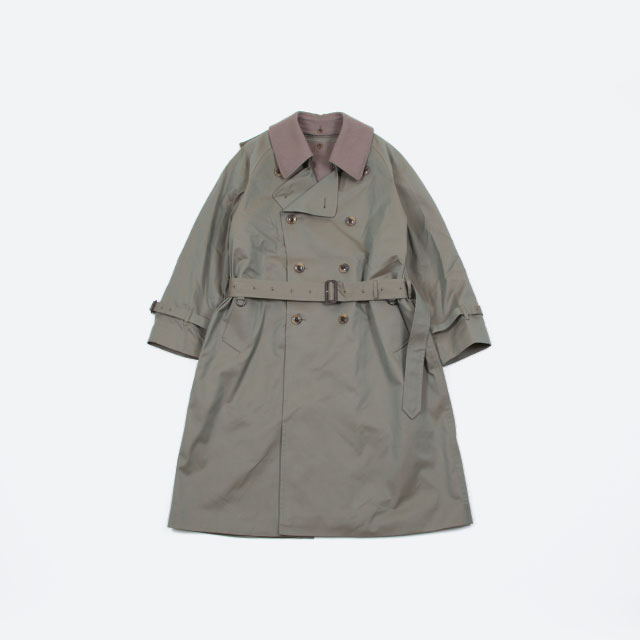 blurhms Cotton Gaberdine Trench Coat [BHS-19AW019]