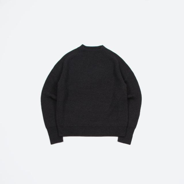 blurhms Silk Wool RIB Knit P/O [BHS-19AW038]