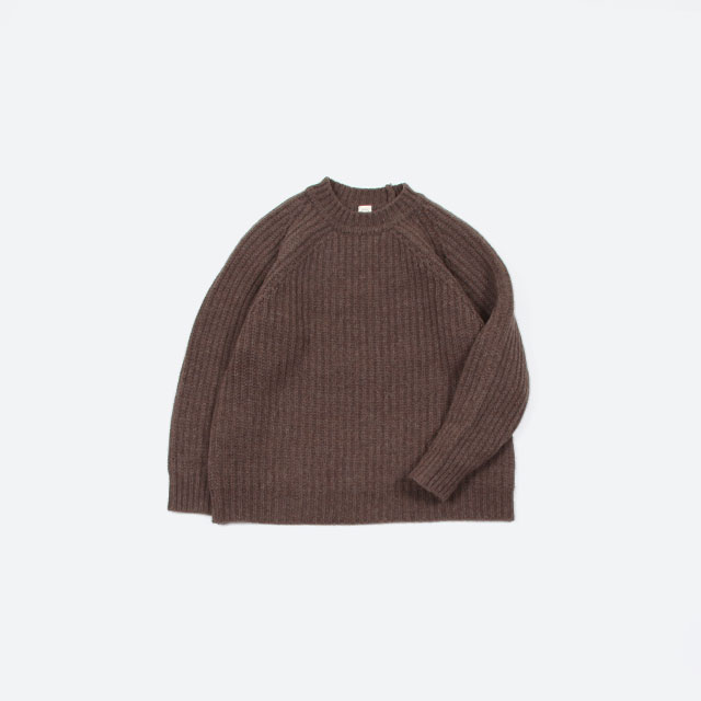 O project KNITTED CREW NECK [08ksw1]