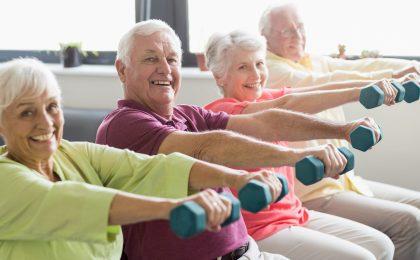 Mehr Muckis: Krafttraining ist auch für Senioren sinnvoll. Dabei geht es nicht um Bodybuilding, sondern um die Gesundheit.