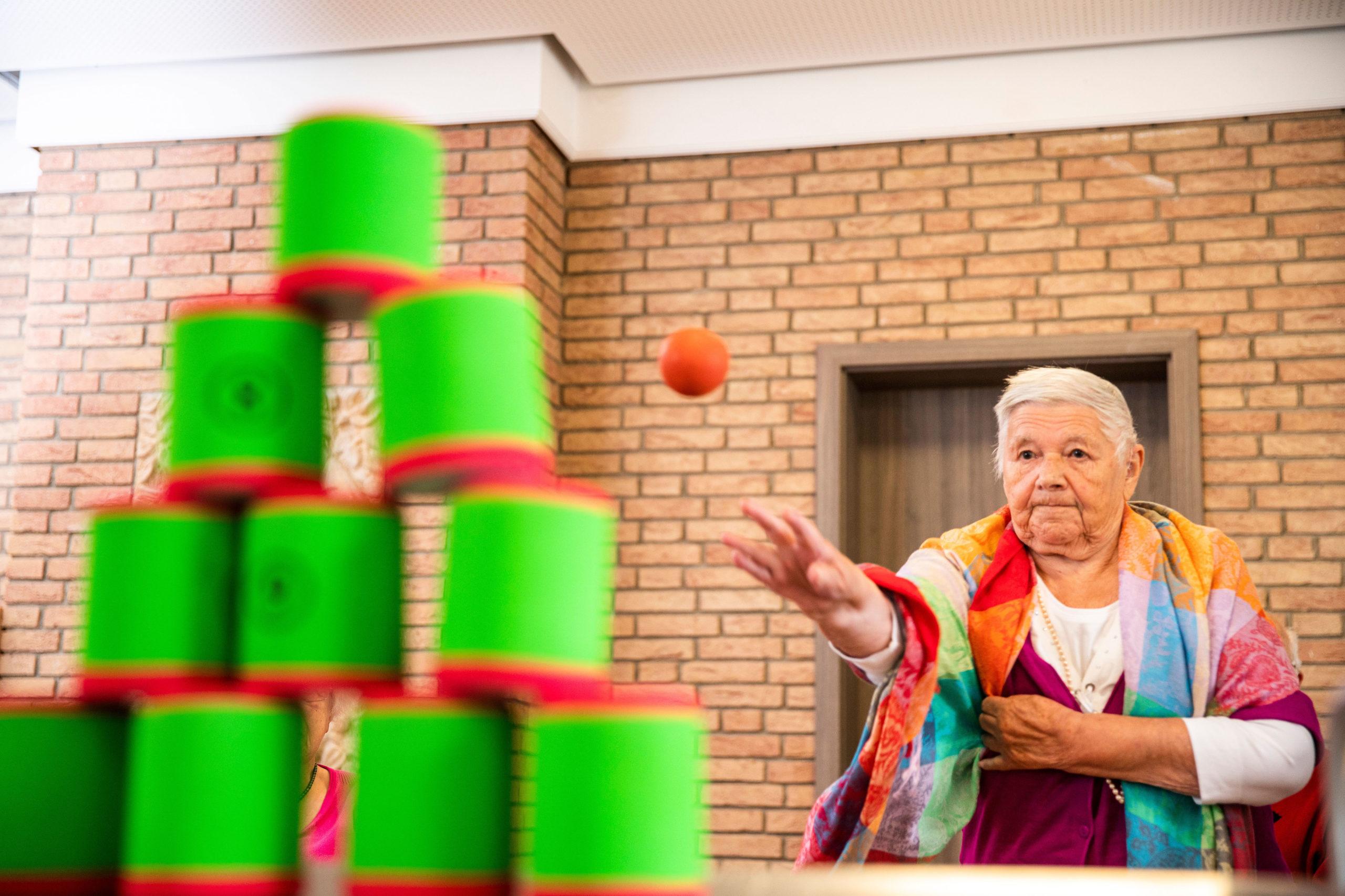 Spiele für Menschen mit Demenz