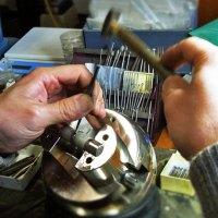 プラチナの結婚指輪 作り編