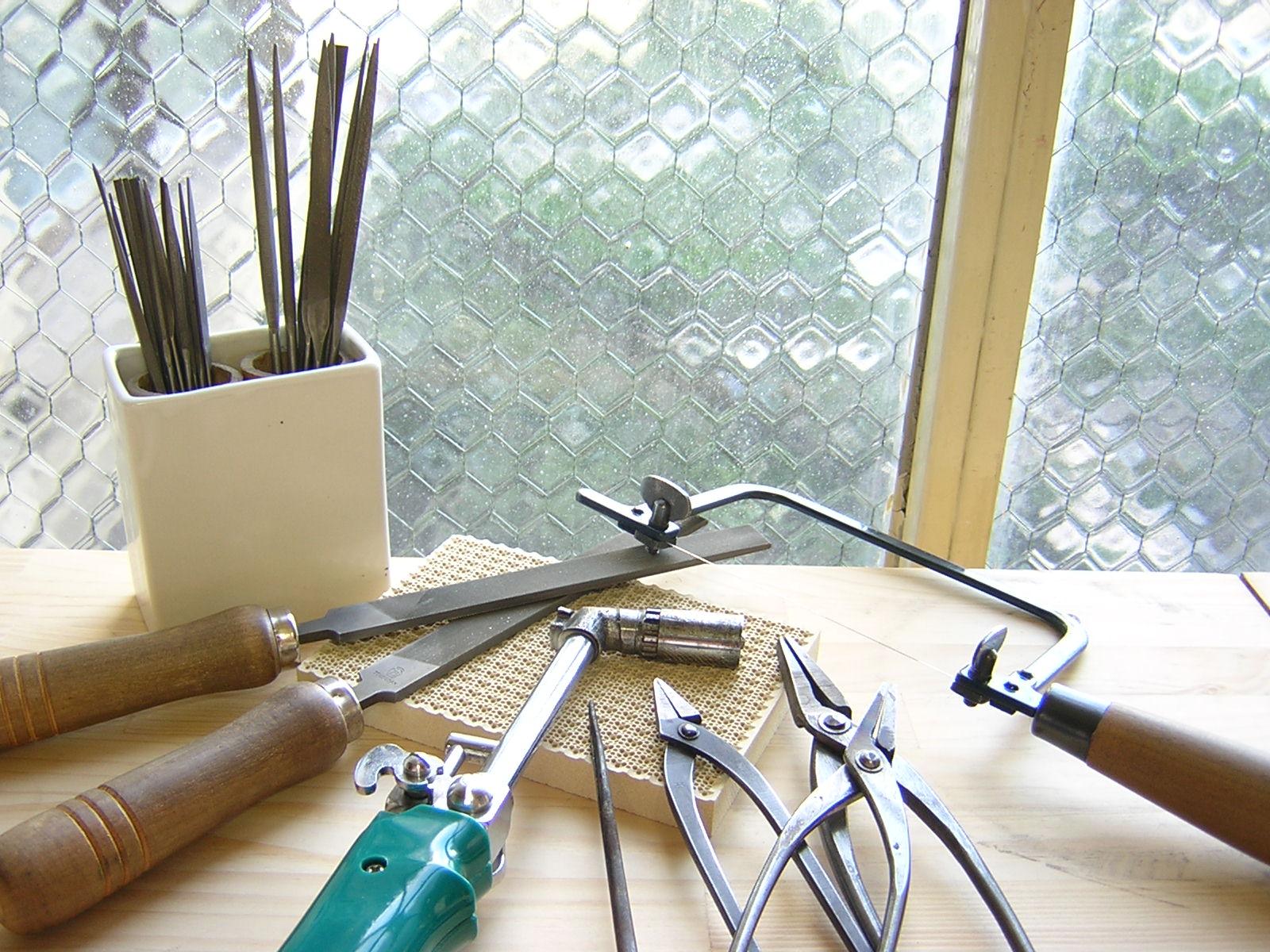 京都 うずり彫金教室