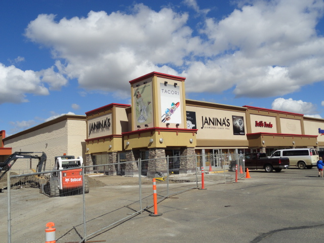 Store Exterior Finishing