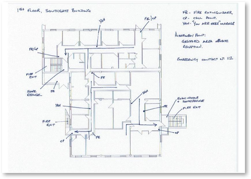 Evacuation Plan Draft