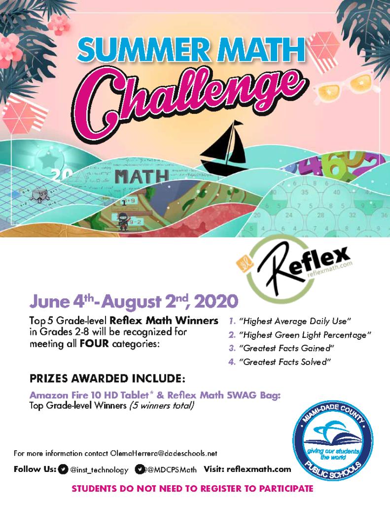 Reflex Summer flyer
