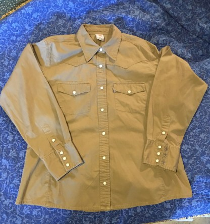 Brown Carhartt Womens Shirt XL