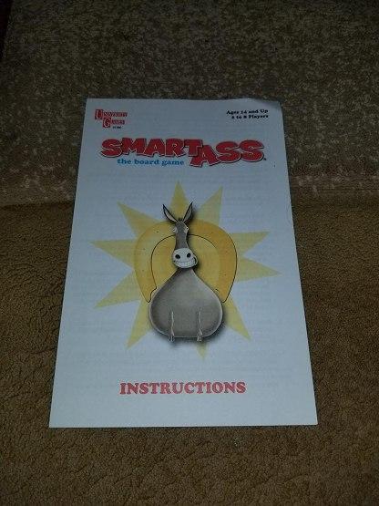 Smart Ass Game Instructions