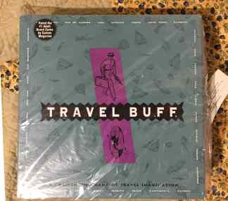 travel buff board game box front
