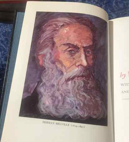 Moby Dick Author Herman Melville Portrait