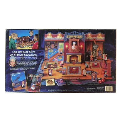 13 Dead End Drive Board Game Back