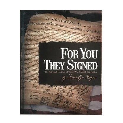 For You They Signed Book