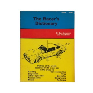 The Racer's Dictionary